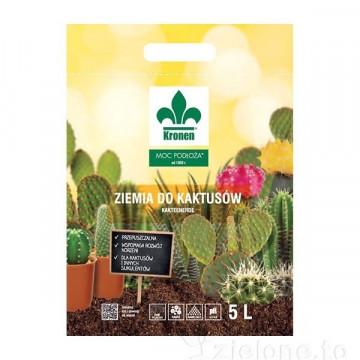 Ziemia do kaktusów, agawi i juk 5l KRONEN