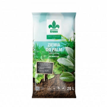 Ziemia do palm i roślin zielonych 20l KRONEN