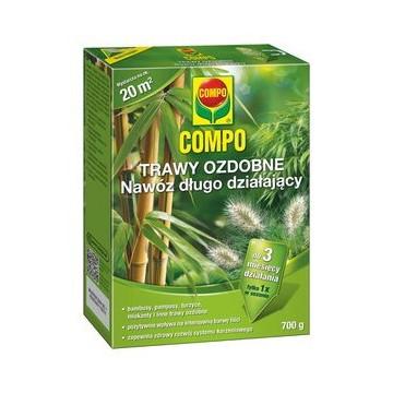 Nawóz do bambusów i traw ozdobnych COMPO 700 g  polska instrukcja