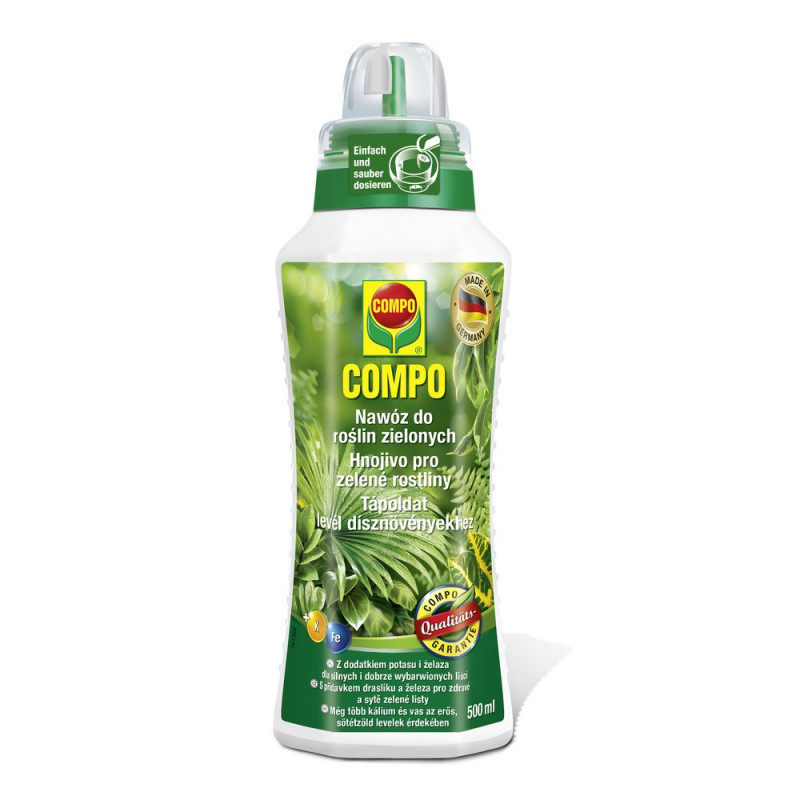 Nawóz do palm i roślin zielonych - piękna zieleń liści! COMPO